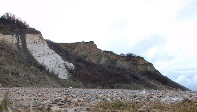 Cliffs at Overstrand