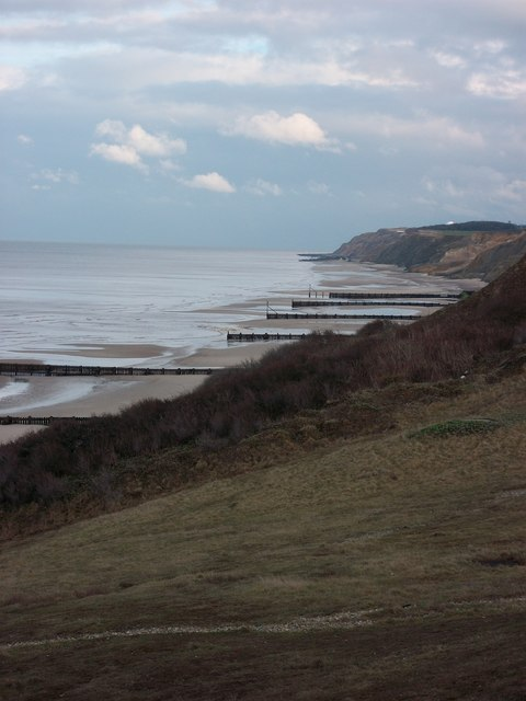 Overstrand  Beach in March