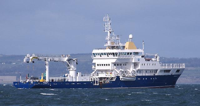 The ILV 'Granuaile' off Bangor