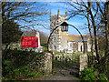 SW7112 : The gateway to St Wynwallow churchyard by Rod Allday