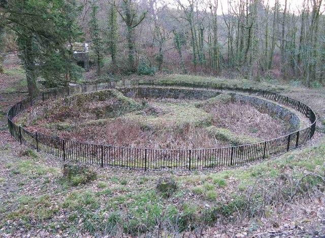 Fish Pond In Mill Wood Penrice Nigel Davies Geograph
