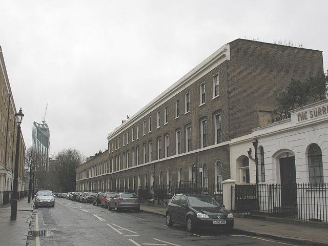 Falmouth Road, Southwark
