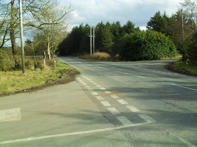 Darkley Road at Aughnagurgan