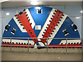 TQ3877 : Tunnelling shield in Cutty Sark DLR station by Stephen Craven