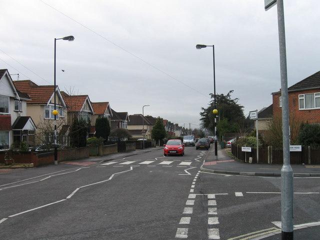 Zebra crossing Middle Road, Southampton