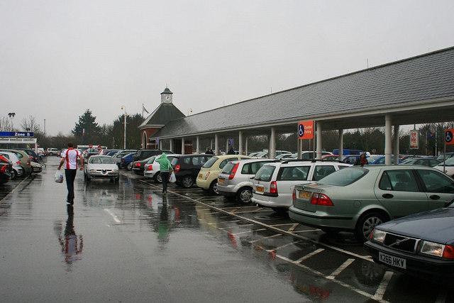 A Wet Tesco Car Park David Lally Cc By Sa 2 0