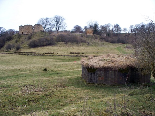Pillbox, near Mitford Castle