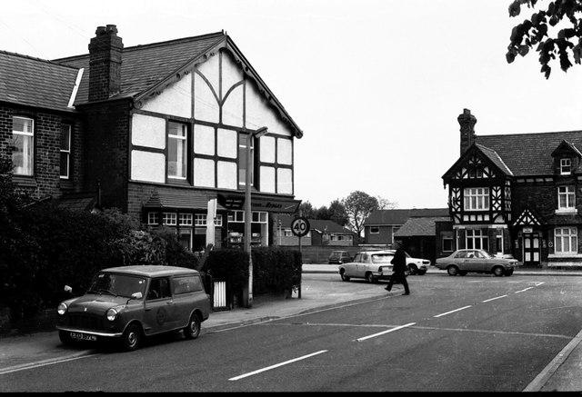 Great sankey post office 1976 chris denny geograph britain and ireland - Great britain post office ...