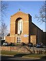 SJ9241 : St Augustine's Catholic Church, Meir by Richard Law