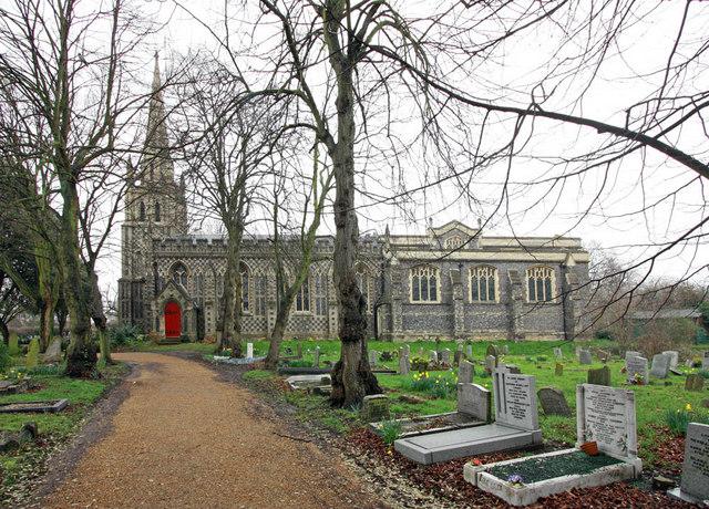 St Peter & St Paul, Chingford