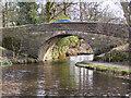 SD9113 : Rochdale Canal, Bridge 56 (2) by David Dixon