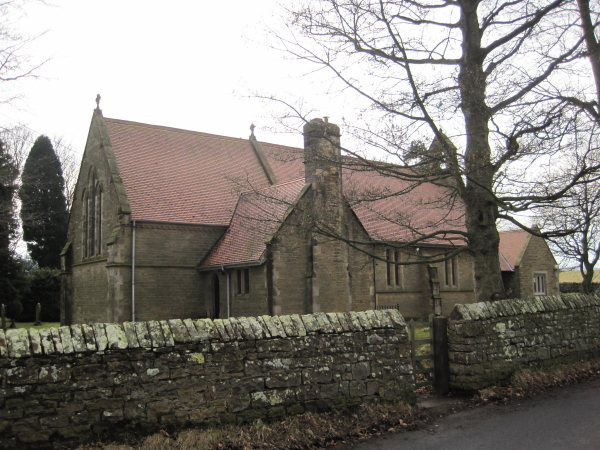Church of All Hallows, Henshaw, Northumberland