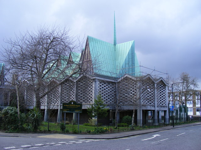 St Paul's Church, Lorrimore Square London