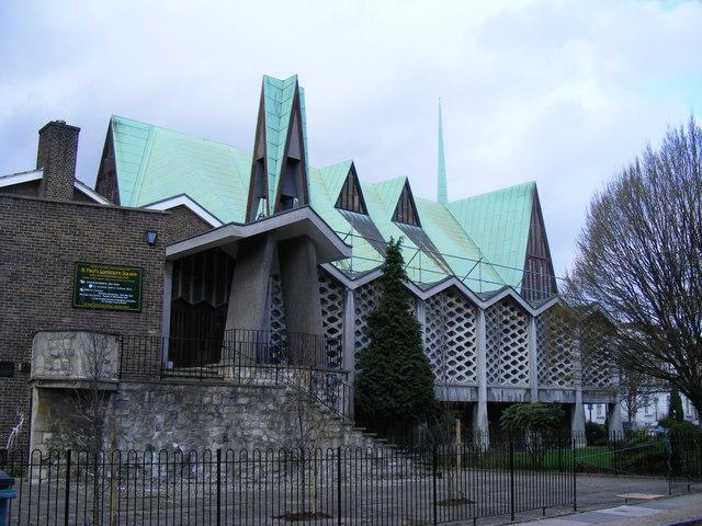 St Paul's Church Lorrimore Square London