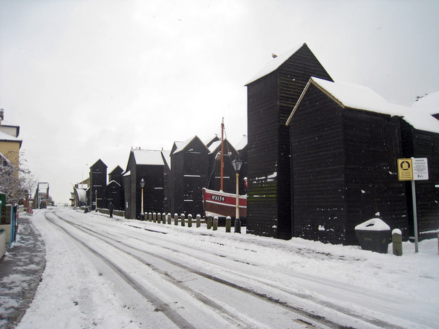 Rock-A-Nore Road in Snow