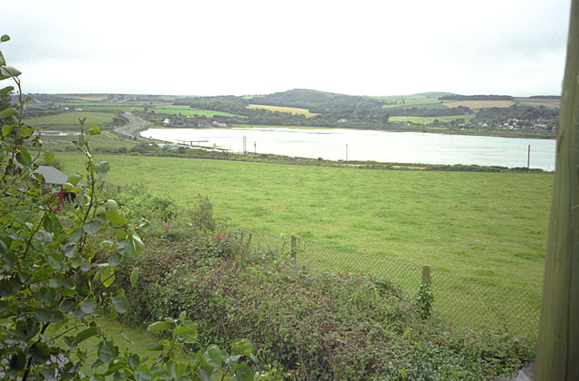 Upper Hayle estuary from Paradise Park bird garden