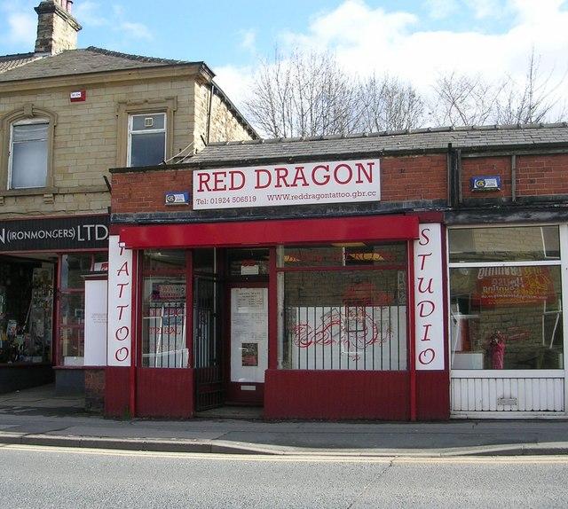 Red Dragon Tattoo Studio Market Street Betty Longbottom