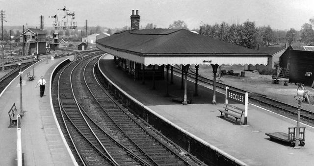 Lowestoft Train Station Car Park