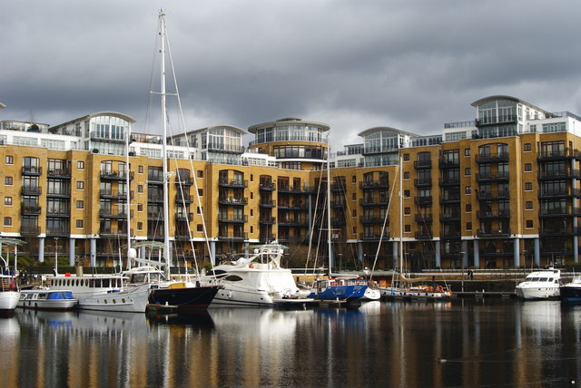 St.Katharine Docks, London