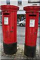 SP3166 : Elizabeth II and George VI Postboxes, Warwick Street : Week 13