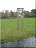 TR2050 : Barham Village Sign by David Anstiss