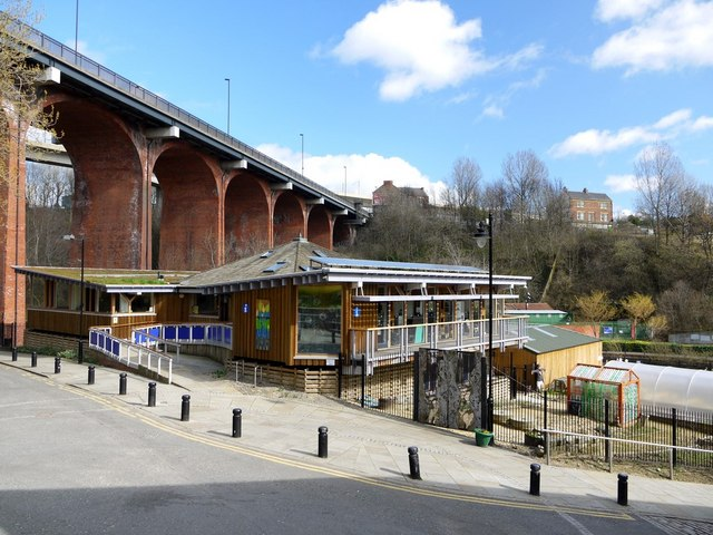 Ouseburn Farm And Byker Bridge 169 Andrew Curtis Geograph