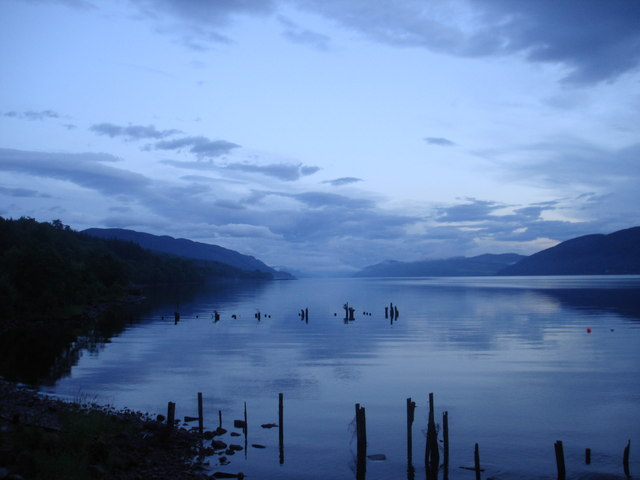 Loch Ness at Dores