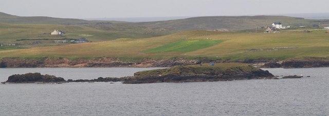 Forewick Holm (aka Forvik Island)