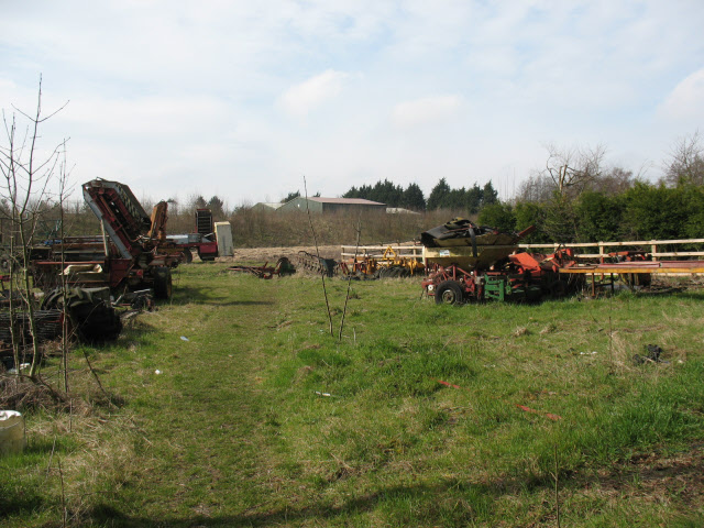 Farm machinery at Rectory Farm (1)