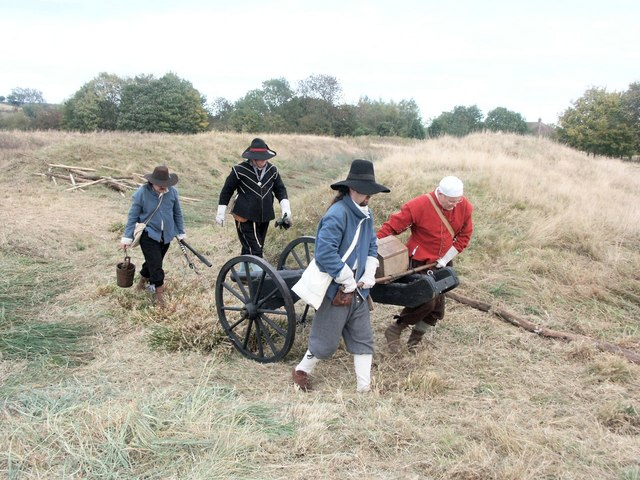 Re-enactment - The Siege of Bolingbroke Castle