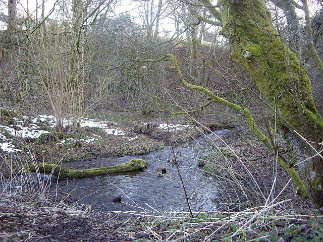 Upper mill dam