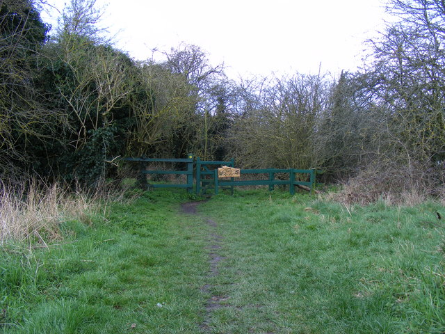 Kissing gate Hounslow Heath