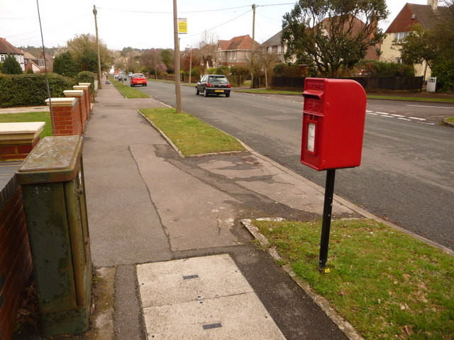 Broadstone: postbox № BH18 103, Upton Way