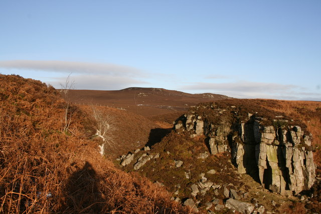 Selby's Cove and the Simonside ridge