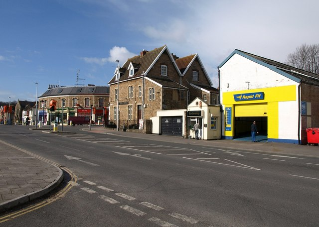 Station Road, Portishead © Derek Harper :: Geograph ...