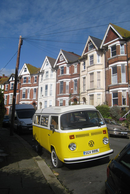 VW Camper on Milward Crescent
