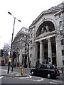 Bush House in London where the BBC World Service is based.