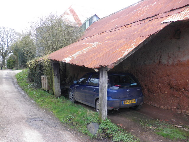 Lean To Garage Milton Roger Cornfoot Cc By Sa 2 0