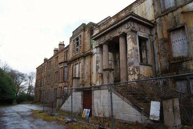 Broomhill Hospital (derelict) © Texas Radio and The Big ...