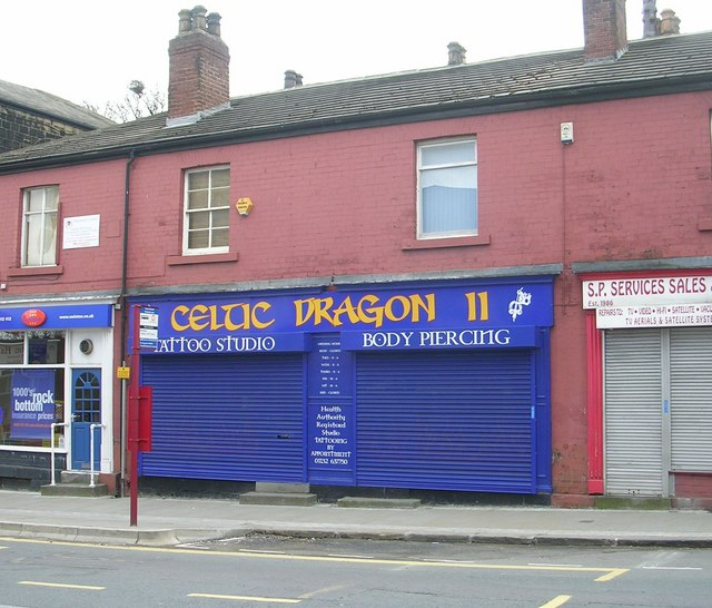 Celtic Dragon Tattoo Studio - Town Street