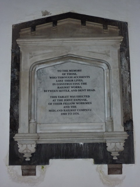 St Leonard's Church Chapel le Dale, Memorial