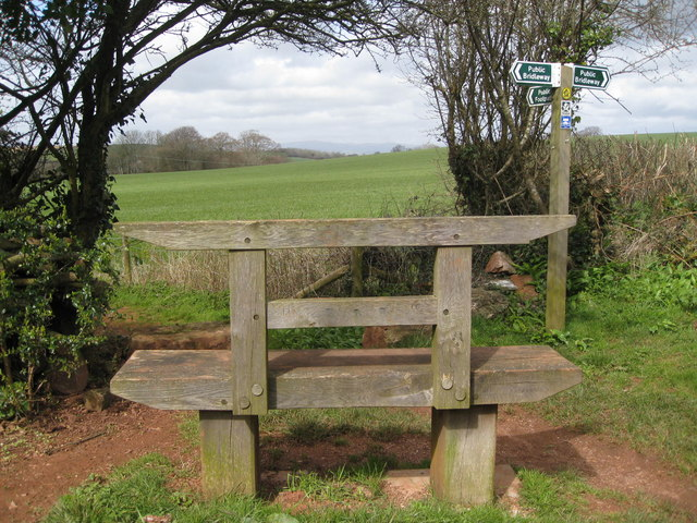 Marldon .... a seat with a view!