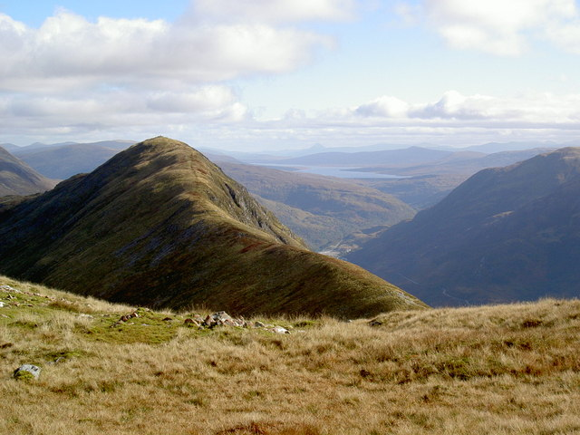 West summit ridge of Beinn na Caillich