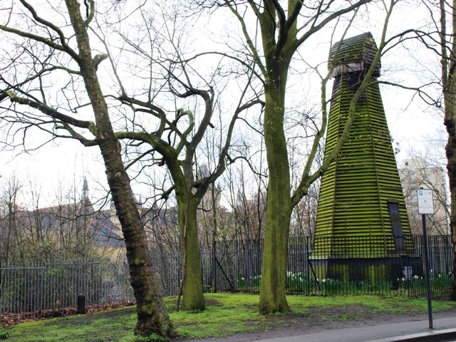 Remains of a Windmill on Wandsworth Common