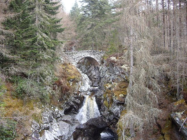 Lower Bridge over the Bruar Water