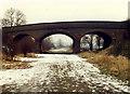 SK3730 : Sinfin Moor Lane Bridge by Peter Kazmierczak