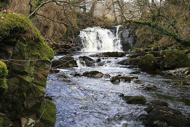 Holy Linn Waterfall