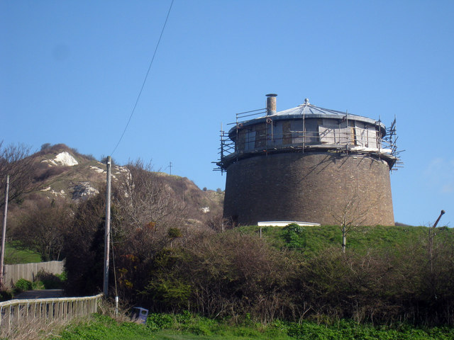 Martello Tower Number 1 Folkestone 169 Oast House Archive