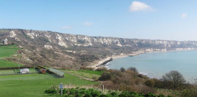 Folkestone To Dover Coastline