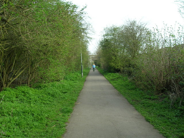 The Trans Pennine Trail to Hornsea (former railway)